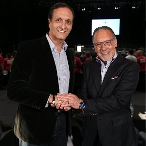 Peter Diaz with Jay Abraham