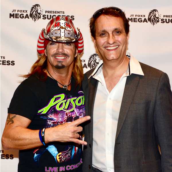Peter Diaz with Brett Michaels, Poison