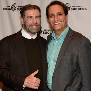 Peter Diaz with John Travolta