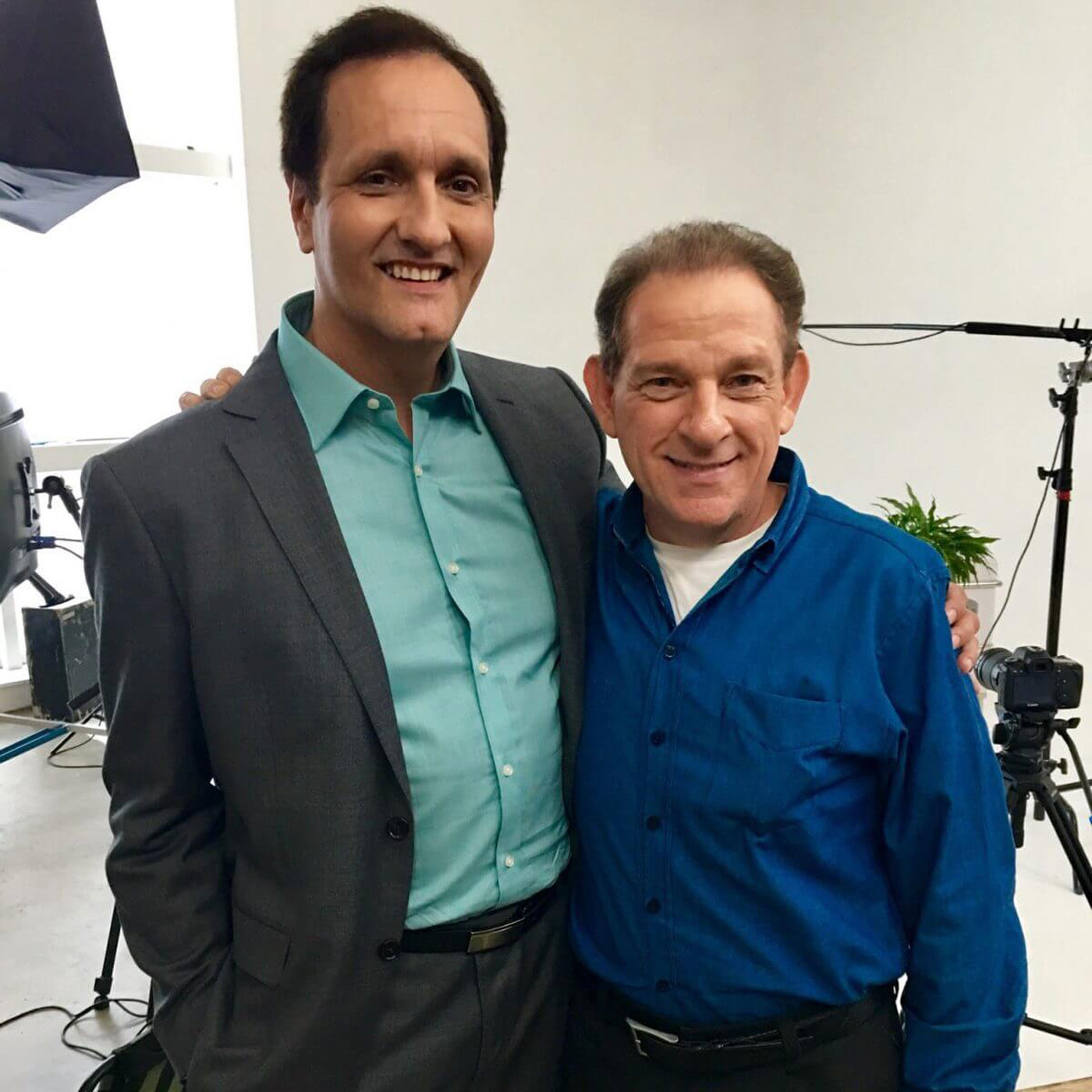 Peter Diaz with Joel Roberts