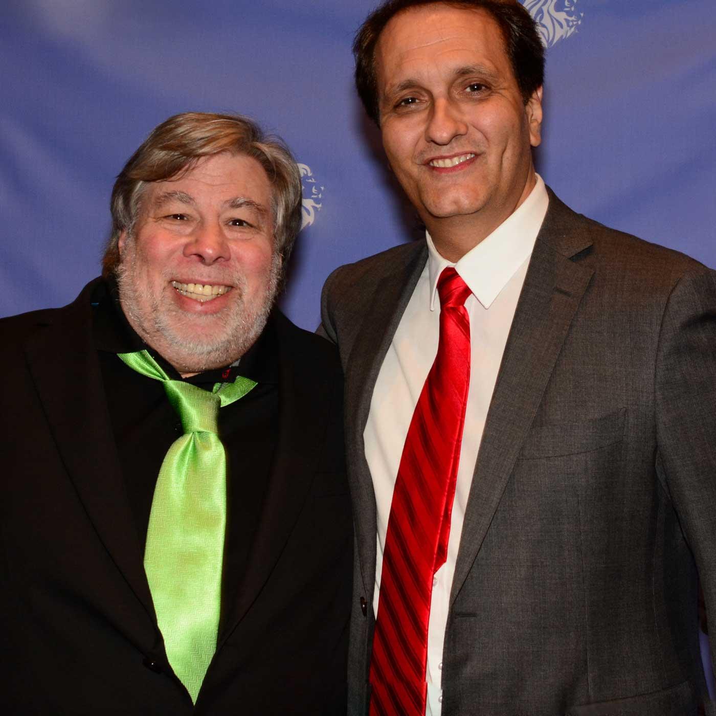 Peter Diaz with Steve Wozniak Podcast