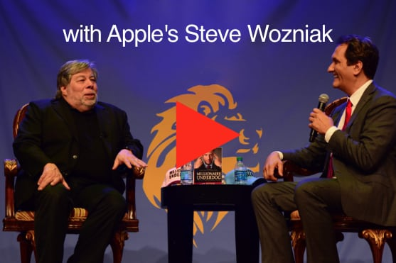 Peter Diaz interviews Apple Co-founder Steve Wozniak