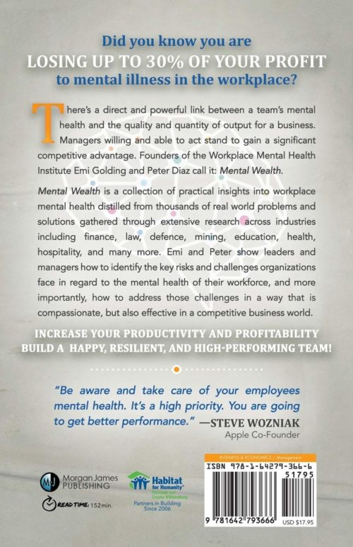 Mental Wealth book back cover